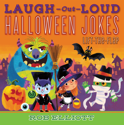 Laugh-Out-Loud Halloween Jokes: Lift-the-Flap (Laugh-Out-Loud Jokes for Kids) Cover Image