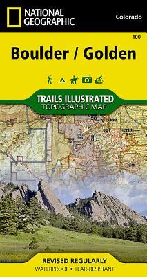 Boulder, Golden (National Geographic Maps: Trails Illustrated #100) Cover Image