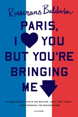Paris, I Love You But You're Bringing Me Down Cover