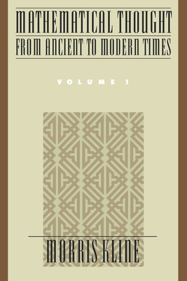 Cover for Mathematical Thought from Ancient to Modern Times