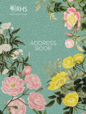 Royal Horticultural Society Pocket Address Book Cover Image
