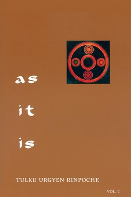 As It Is, Volume I Cover