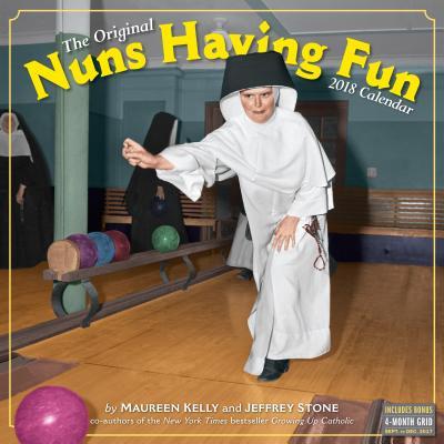 Nuns Having Fun Wall Calendar 2018 Cover Image
