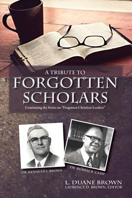 A Tribute to Forgotten Scholars Cover Image