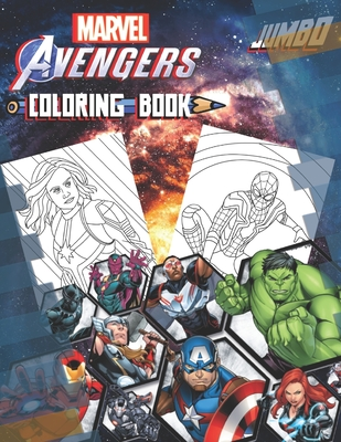 Marvel Avengers Coloring Book: Marvel Avengers Coloring Book With Super Cool Images For All Fans Cover Image