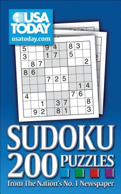 USA TODAY Sudoku: 200 Puzzles from the Nation's No. 1 Newspaper (USA Today Puzzles #1) Cover Image