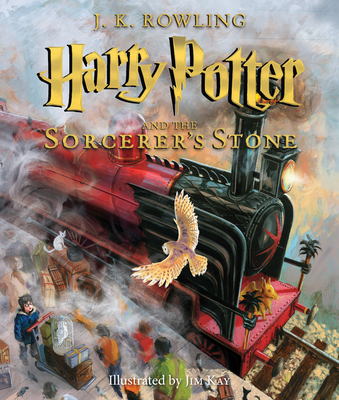 Harry Potter and the Sorcerer's Stone: Illustrated Edition (Illustrated): The Illustrated Edition Cover Image