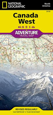 Canada West (National Geographic Adventure Map #3113) Cover Image