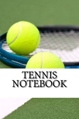 Tennis Notebook Cover Image