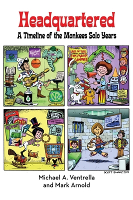 Headquartered: A Timeline of The Monkees Solo Years (hardback) Cover Image
