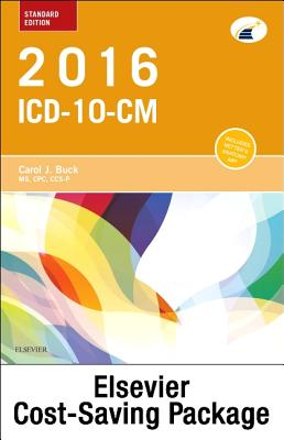 2016 ICD-10-CM Standard Edition, 2015 HCPCS Standard Edition and AMA 2015 CPT Standard Edition Package Cover Image