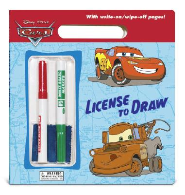 License to Draw (Disney/Pixar Cars) Cover
