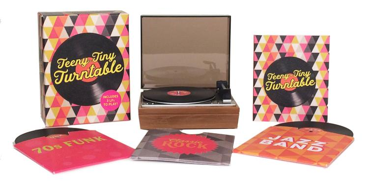 Teeny-Tiny Turntable: Includes 3 Mini-LPs to Play! (RP Minis) Cover Image