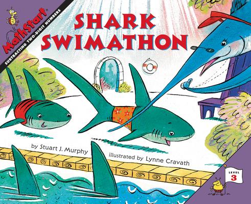 Shark Swimathon (MathStart 3) Cover Image