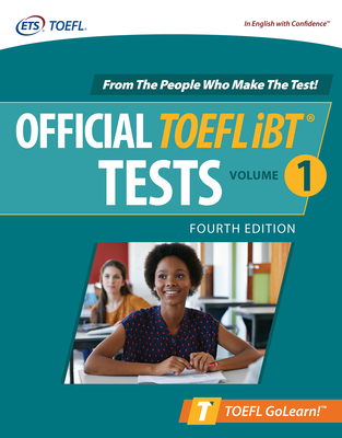 Official TOEFL IBT Tests Volume 1, Fourth Edition Cover Image