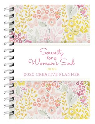 2020 Creative Planner Serenity for a Woman's Soul Cover Image
