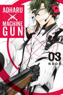 Aoharu X Machinegun, Volume 3 Cover