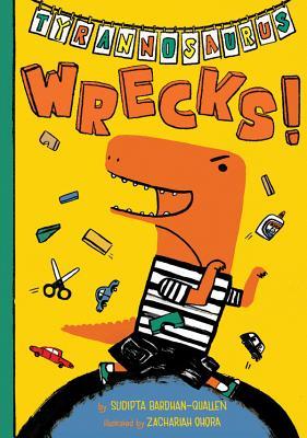 Tyrannosaurus Wrecks! Cover