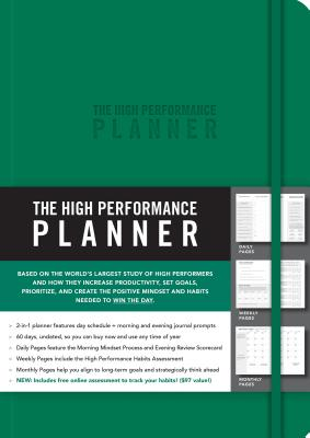 The High Performance Planner [Green] Cover Image