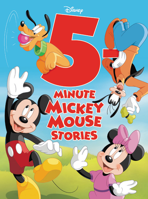 5-Minute Mickey Mouse Stories (5-Minute Stories) Cover Image