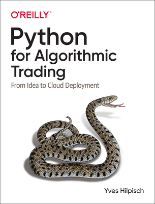 Python for Algorithmic Trading: From Idea to Cloud Deployment Cover Image