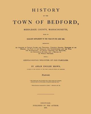 History of the Town of Bedford Cover Image