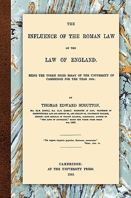 The Influence of the Roman Law on the Law of England Cover Image