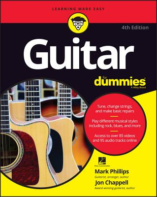 Guitar for Dummies (For Dummies (Lifestyle)) Cover Image