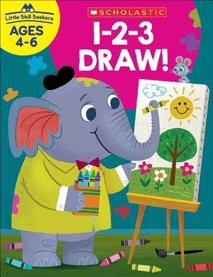 Little Skill Seekers: 1-2-3 Draw! Workbook Cover Image