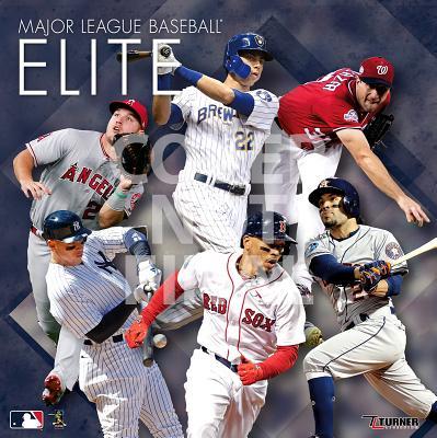 Mlb Elite: 2020 12x12 Elite Wall Calendar Cover Image