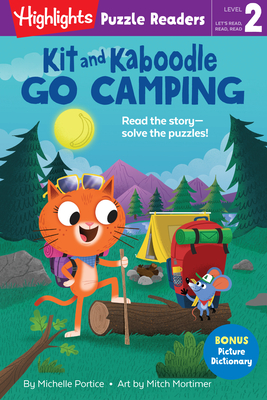 Kit and Kaboodle Go Camping (Highlights Puzzle Readers) Cover Image