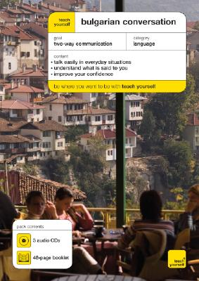 Teach Yourself Bulgarian Conversation [With 48 Page Booklet] Cover Image
