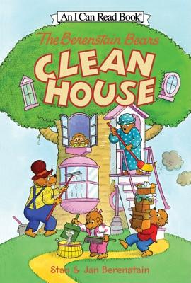 The Berenstain Bears Clean House [With Stickers] Cover