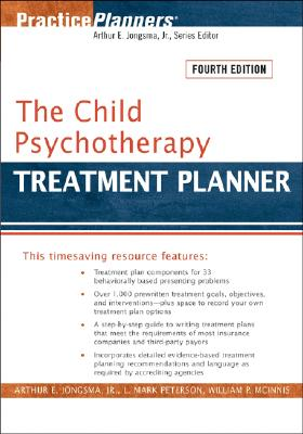 The Child Psychotherapy Treatment Planner Cover Image