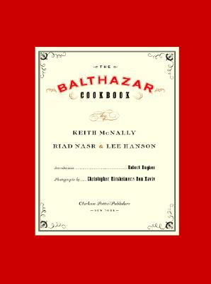 The Balthazar Cookbook Cover Image