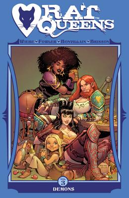 Rat Queens, Volume 3: Demons Cover Image
