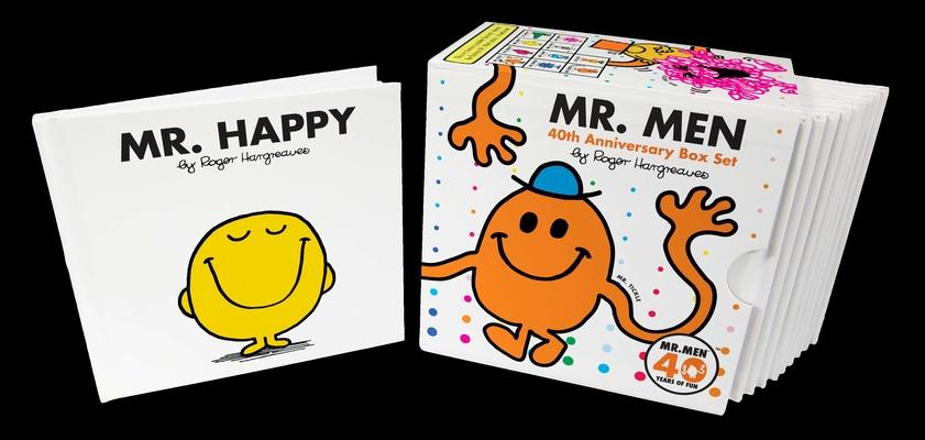 Mr. Men 40th Anniversary Box Set (Mr. Men and Little Miss) Cover Image