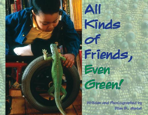 All Kinds of Friends, Even Green! Cover