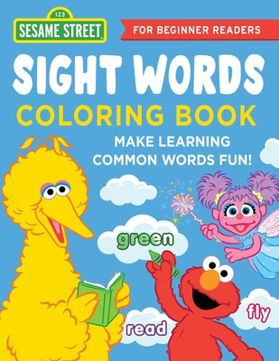 Cover for The Sesame Street Sight Words Coloring Book