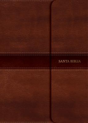Cover for NVI Biblia Compacta Letra Grande marrón, símil piel con índice y solapa con imán