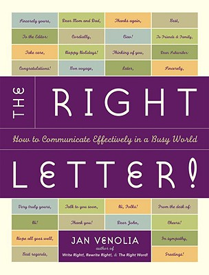 The Right Letter! Cover
