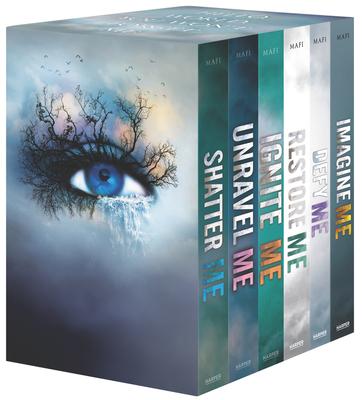 Shatter Me Series 6-Book Box Set: Shatter Me, Unravel Me, Ignite Me, Restore Me, Defy Me, Imagine Me Cover Image