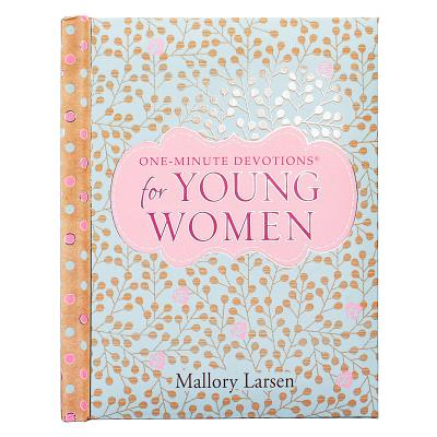 One-Min Devotions for Young Women Hardcover Cover Image