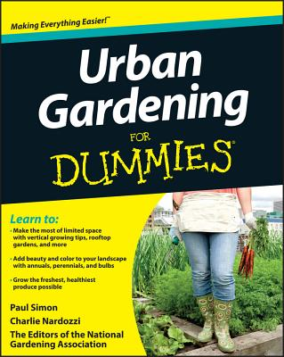 Urban Gardening FD (For Dummies) Cover Image