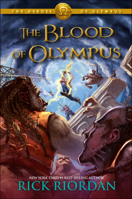 The Blood of Olympus (Heroes of Olympus #5) Cover Image