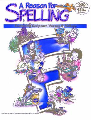A Reason for Spelling: Student Workbook Level F Cover Image