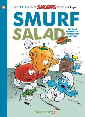The Smurfs #26: Smurf Salad (The Smurfs Graphic Novels #26) Cover Image