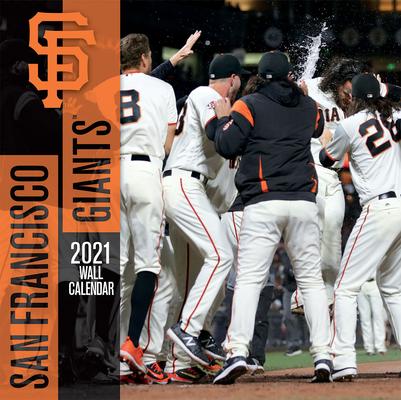 San Francisco Giants 2021 12x12 Team Wall Calendar Cover Image