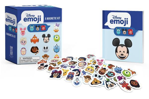 Disney emoji: A Magnetic Kit (RP Minis) Cover Image
