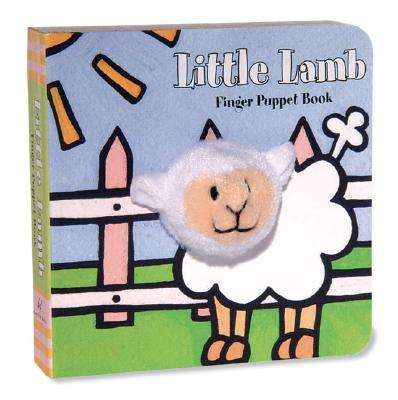 Little Lamb: Finger Puppet Book: (Finger Puppet Book for Toddlers and Babies, Baby Books for First Year, Animal Finger Puppets) (Little Finger Puppet Board Books) Cover Image